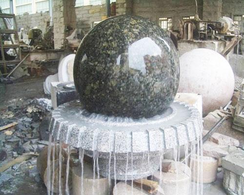 大理石风水球